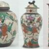 Gemberpot en vazen, particuliere collectie