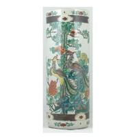 Paraplubak, China, ca. 1900-1920, collectie Bolwerk