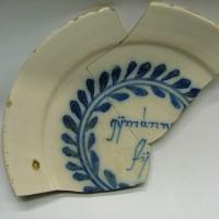 Detail bord nr. 1, collectie Gemeente Vlaardingen