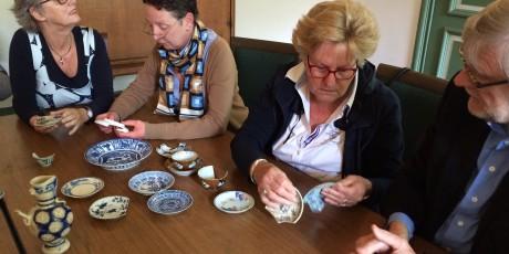 Deelnemers workshop Japans porselein