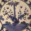 Detail bord, porselein Arita