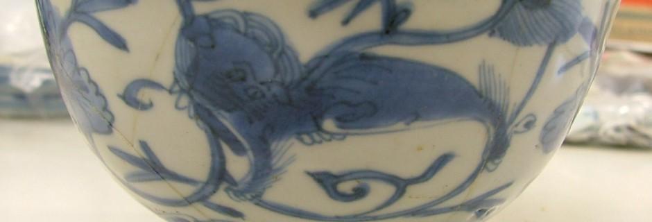 Ming-kom met Leeuw (collectie Gemeente Vlaardingen)
