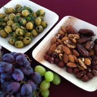 Romeinse snacks: noten en vruchten